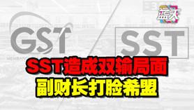 SST造成双输局面,副财长打脸希盟