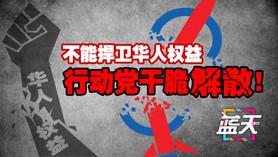 不能捍卫华人权益,行动党干脆解散!