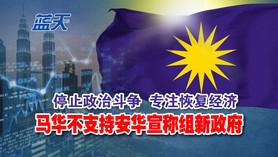 停止政治斗争专注恢复经济,马华不支持安华宣称组新政府