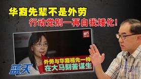 华裔先辈不是外劳,行动党别一再自我矮化!