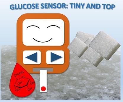 Glucose sensor tiny and top - Ana Diaz Fernandez