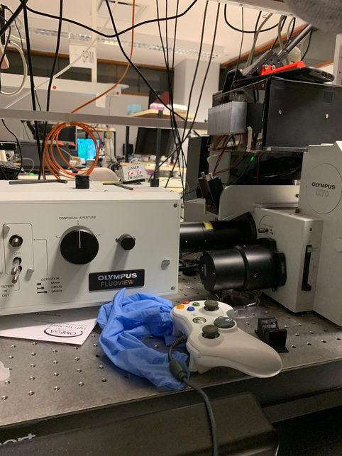 The X-box controller in microscopy - Dr. Chinmaya Sadangi