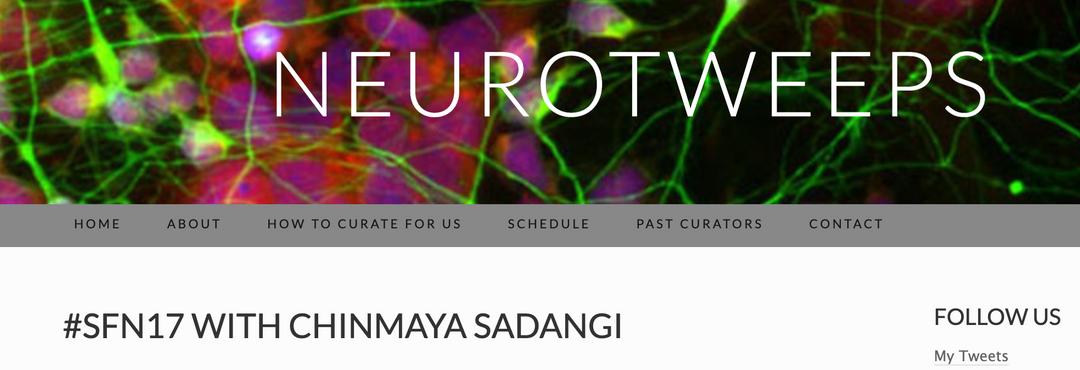 SfN 2017 with Dr. Sadangi - Neurotweeps