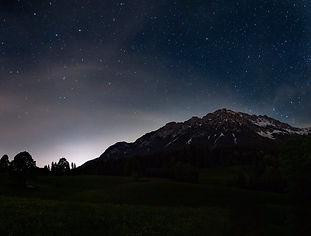Wilder Kaiser by Night