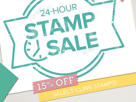Stamp Sale - One Day Only