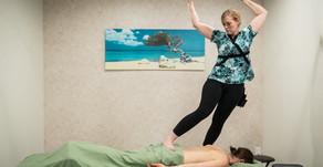 New to Good Fortune Spa:  Ashiatsu Barefoot Massage