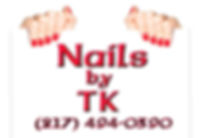 Nails by TK. Phone 217-494-0390