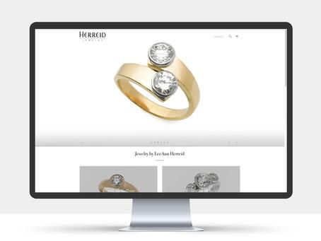 Herreid Jewelry's webb är klar!