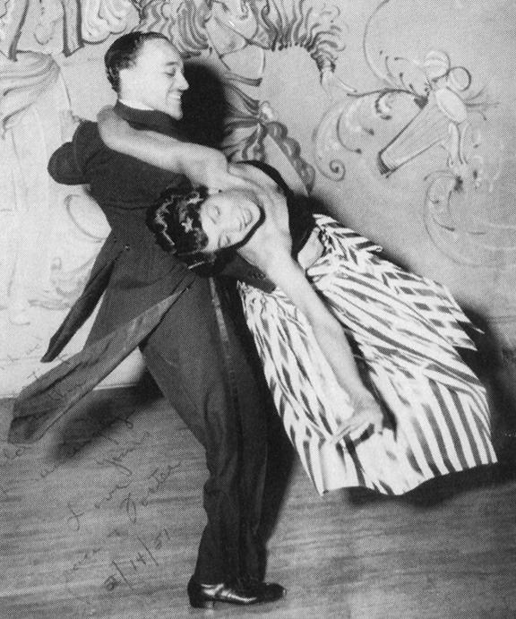 Nichelle Nichols with husband Foster Johnson, while touring with Duke Ellington, 1951_web