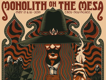"""May 2019 - Turn it Up: Monolith on the Mesa """"A High Desert Rock & Art Experience"""""""