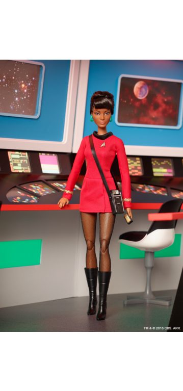 Mattel's Uhura doll