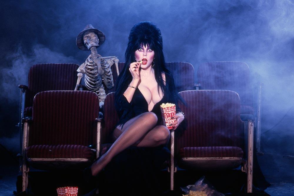 Elvira, Mistress of the Dark - Photo by Suze Randall