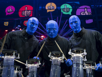 Am I Blue? Blue Man Group Speechless Tour at Popejoy Hall (Review)