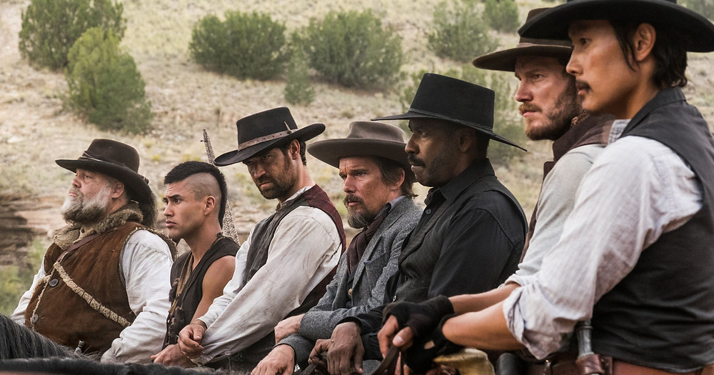 Magnificent Seven starring Denzel Washington was filmed in New Mexico