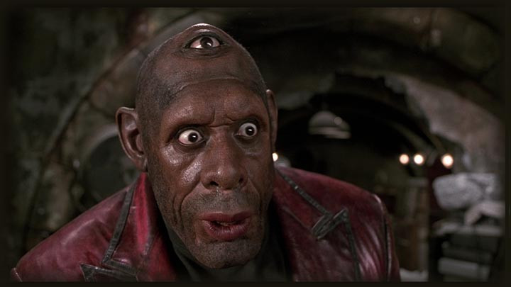 Grevioux as Pineal Eye from Men in Black II