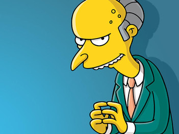January 2015 - Let Us Entertain You: Mr. Burns - The Song & Dance Man