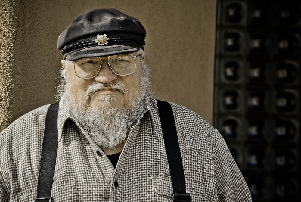 George R.R. Martin - Photo by ®Ariel Bisbee, All Rights Reserved