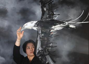 February 2020 - The Art World: Sayaka Ganz/Reclaimed Creations