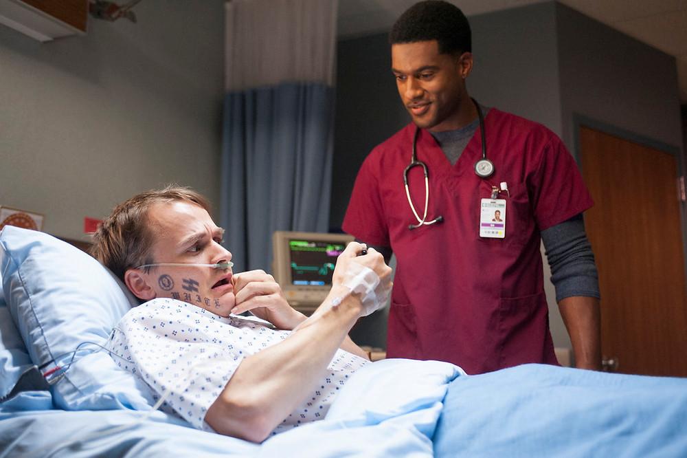 Travis Hammer and JR Lemon in The Night Shift (2014)