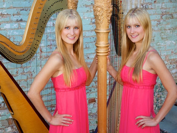 October 2014 - Let Us Entertain You - The Harp Twins