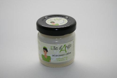Déodorant crème menthe poivrée Bio et palmarosa Bio
