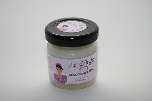 Déodorant crème lavande Bio et palmarosa Bio