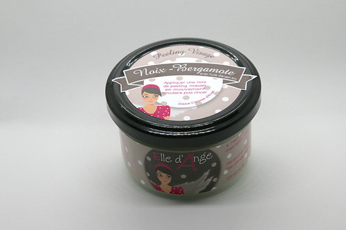 Peeling visage noix - bergamote