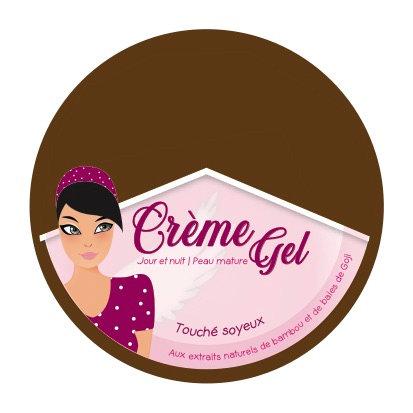 Crème-Gel peau mature aux extraits naturels de Bambou et de Baies de Goji