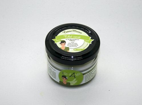 Crème pour les mains senteur thé vert