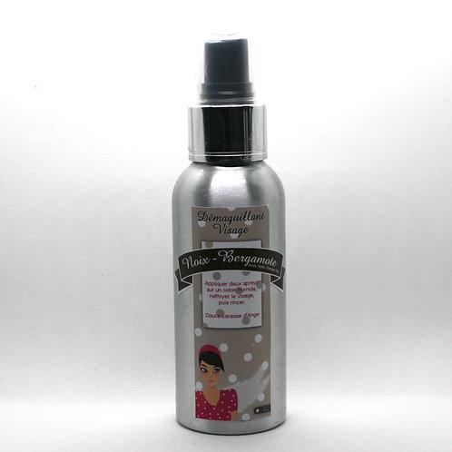 Démaquillant noix- huile essentielle bergamote Bio -huile d'argan Bio