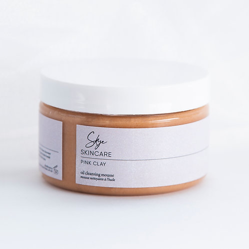 Pink Clay Oil Cleansing Mousse