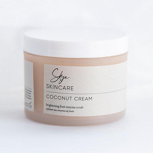 Coconut Cream Brightening Fruit Enzyme Scrub