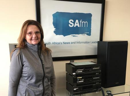Gaby Rockett Talks about Reflexology on SA FM Radio