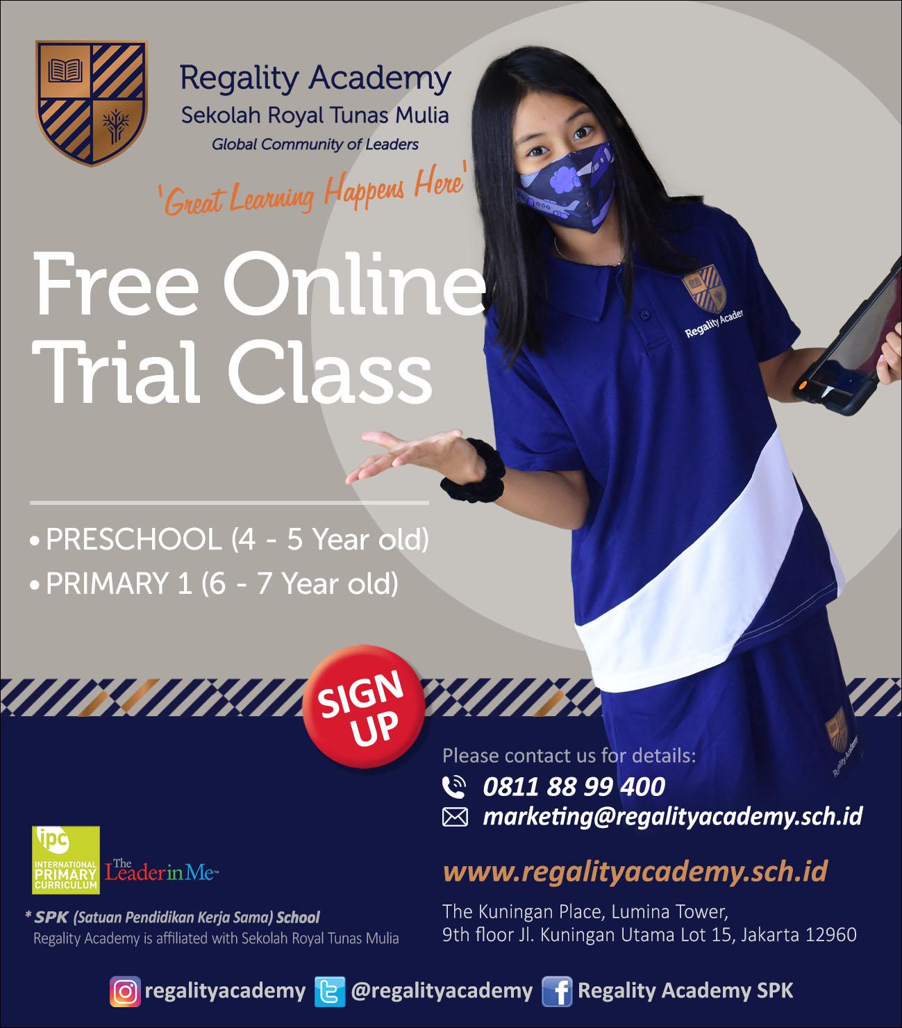 RGA Trial Online Class [E-Flyer IG FB] B