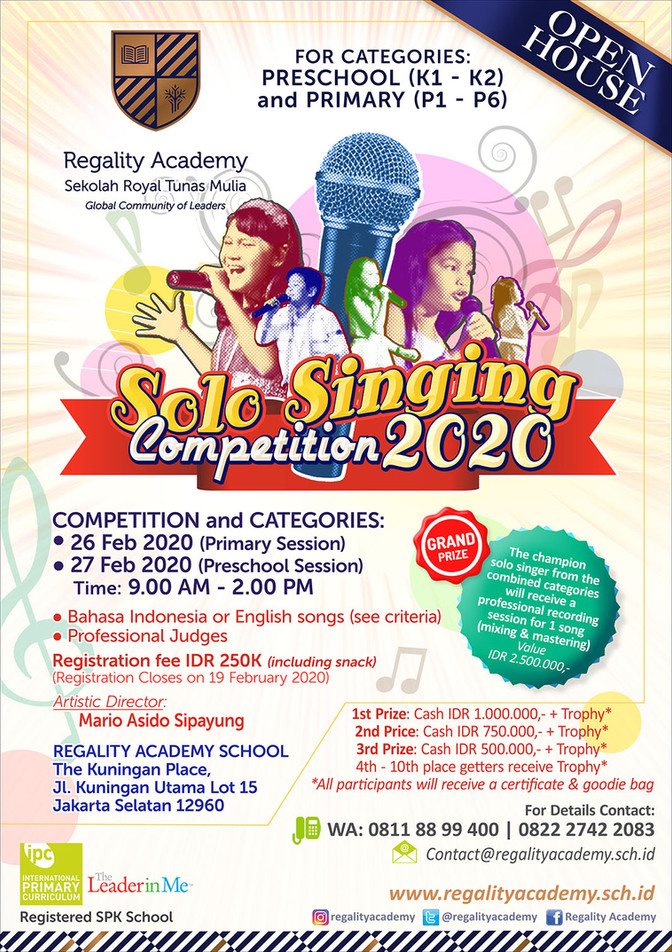 Solo Singing Competition 2020