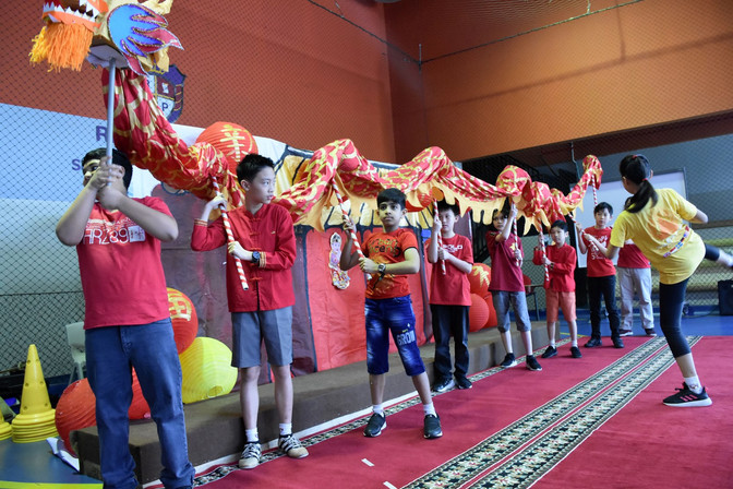 Chinese New Year Welcomed in Style