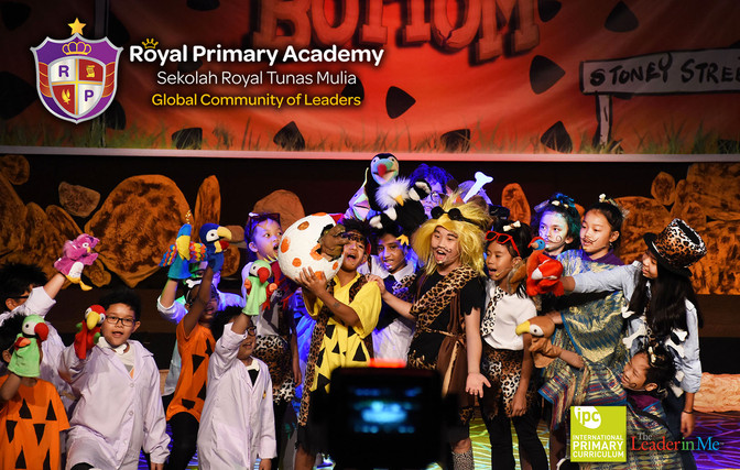 "Royal Primary Academy rocks ""ROCK BOTTOM - A Musical Play 6 December 2018"