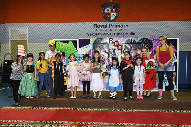 Book Week Character Dress Up Parade