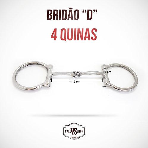 Bridão D Inox, Bocal De Ferro Quadrado Com 4 Quinas!