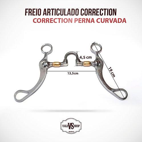 FREIO CORRECTION ARTICULADO COM ROLER, BOCAL BAIXO!
