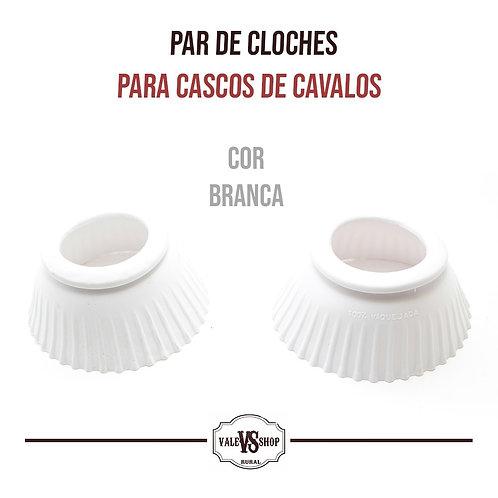 PAR DE CLOCHES BORRACHA BRANCO