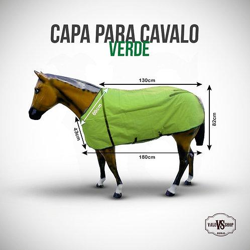 Capa Para Cavalo Verde Limão, Tamanho M