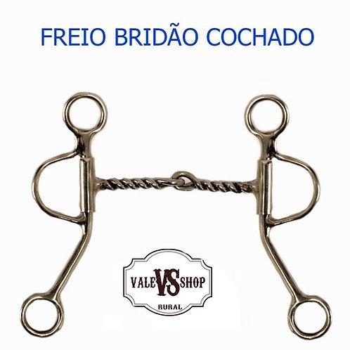 FREIO BRIDÃO TORCIDO/COCHADO