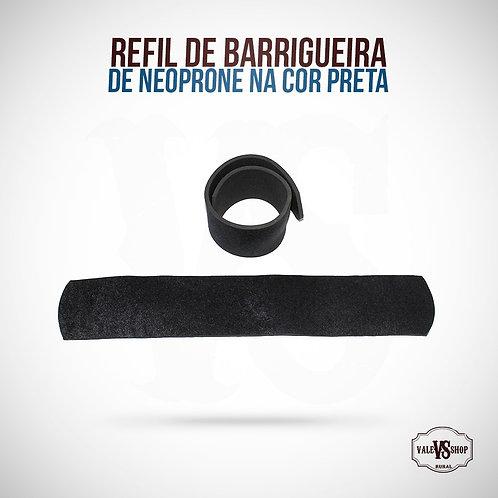 Refil Para Barrigueira Cavalo Neoprone Cor Pre