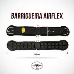 Barrigueira Cavalo Air Flex Preta