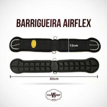Barrigueira Cavalo Air Flex Preta Frete Grátis