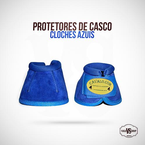 Protetores De Casco Para Cavalos Cloches Azul