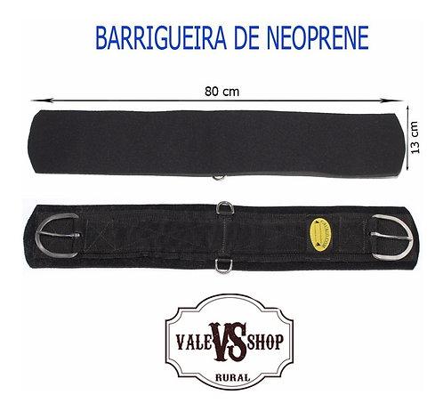 BARRIGUEIRA PRETA DE NEOPRENE
