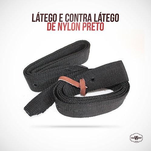 Látego e Contra Látego de Nylon para Sela
