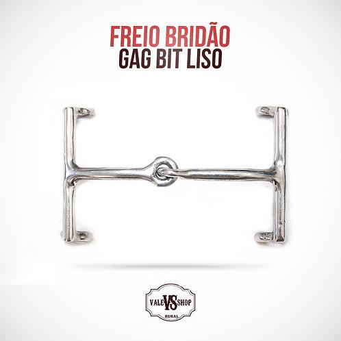 FREIO BRIDÃO GAG BIT LISO